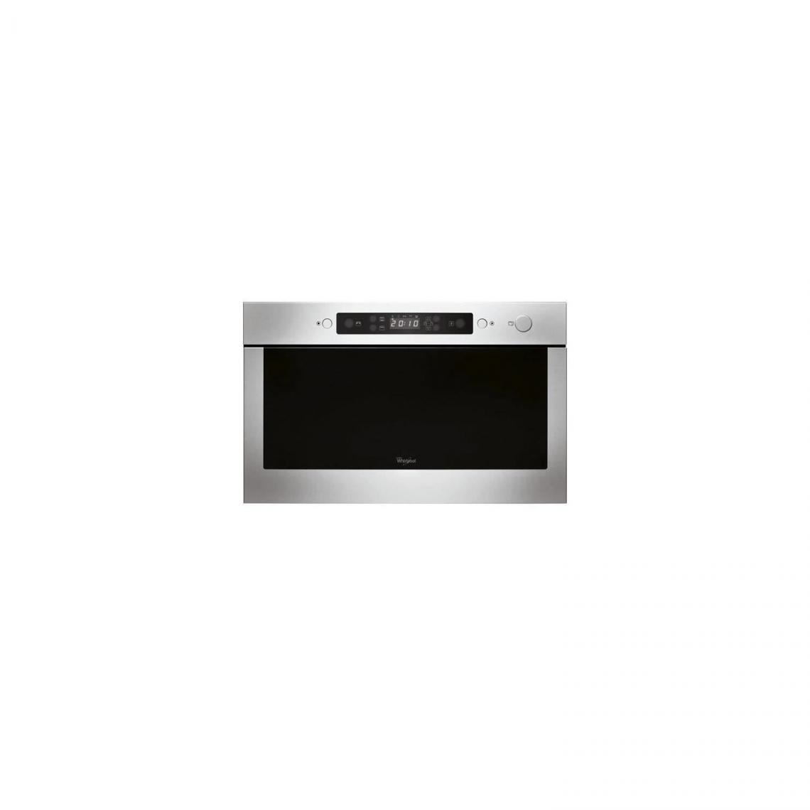whirlpool WHIRLPOOL AMW423IX - Micro-ondes encastrable - 22L - 750W - Gris