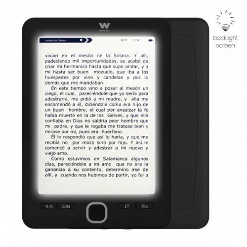 Woxter - E-book Woxter Scriba 195 Paperlight Black - Liseuse Pack reprise