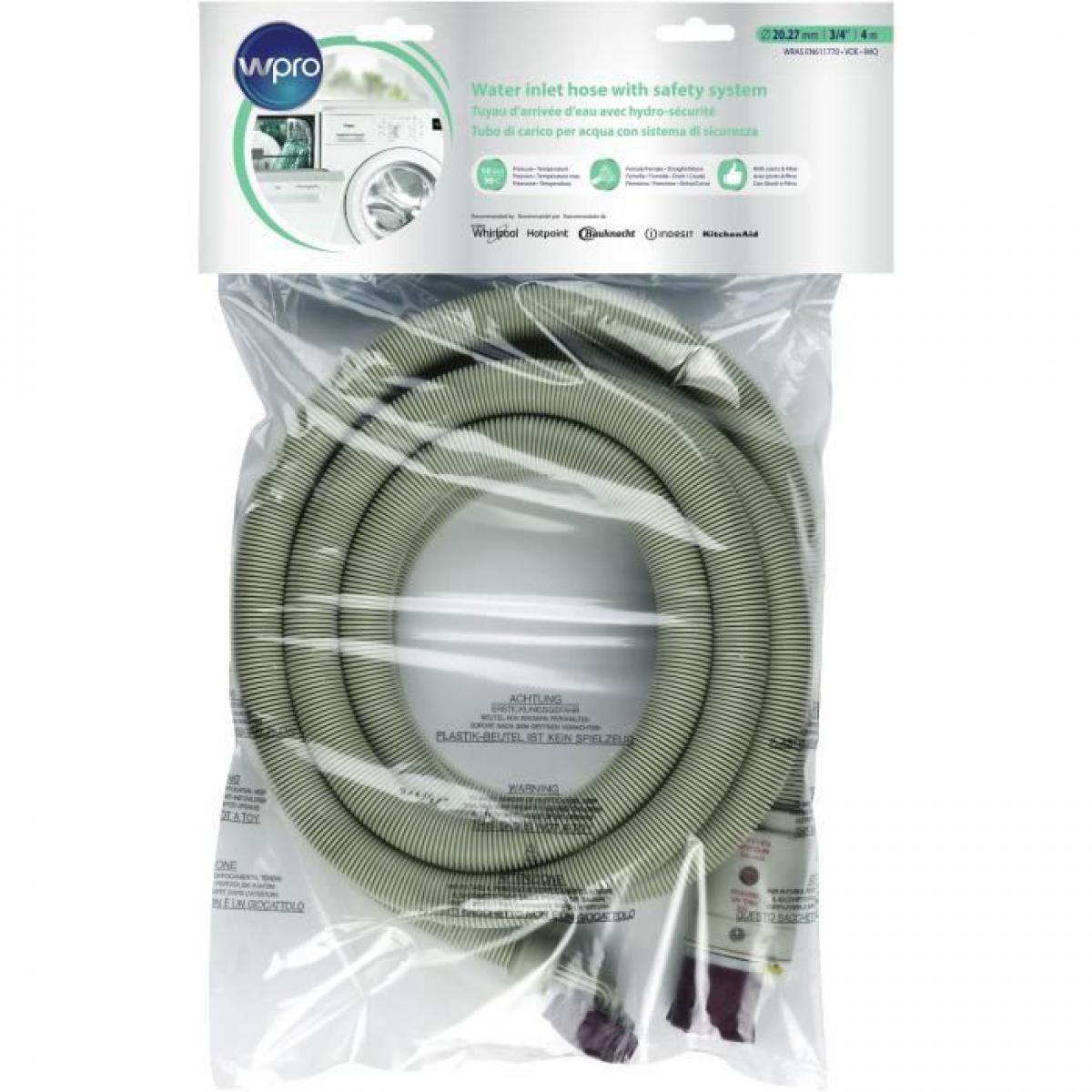 Wpro Wpro IHS400 - Tuyau darrivee deau avec Hydro-securite et filtre