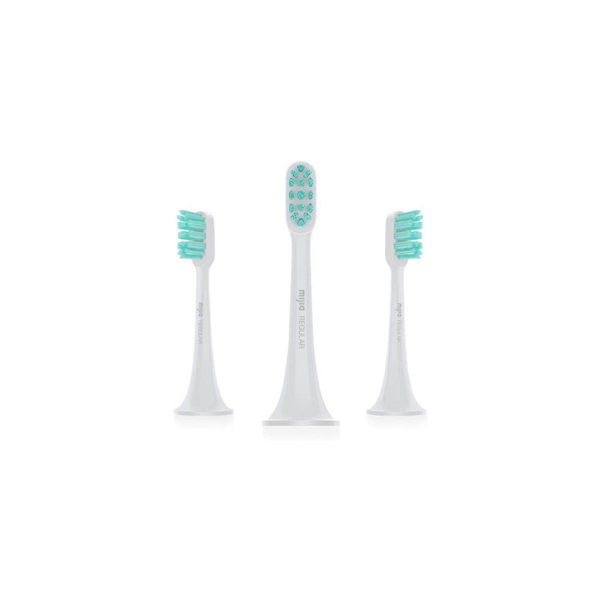 XIAOMI XIAOMI - Recharge 3 tetes de brosse a dent pour bosse a dent électrique