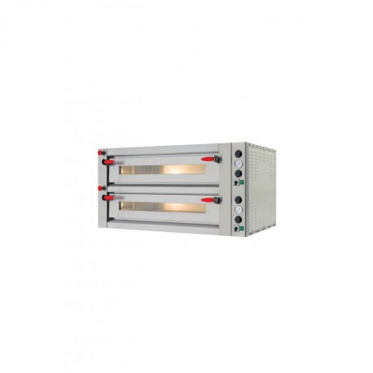 Yarrah Four a pizza double électrique pour pizzeria - Pyralis 26,64 kW - Pizzagroup -