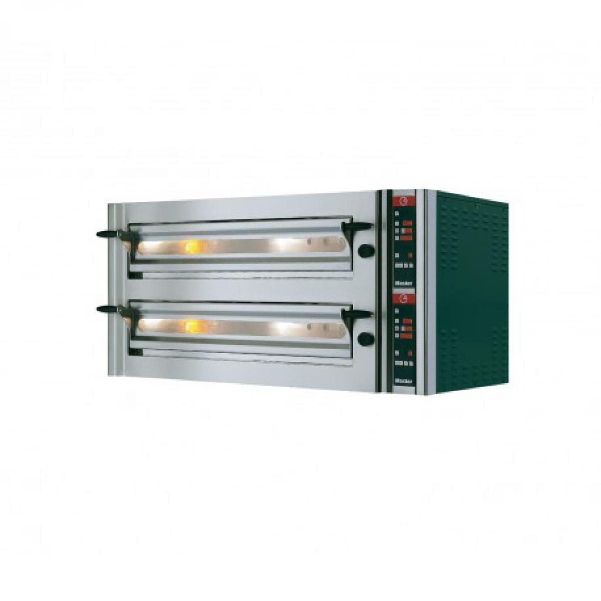 Yarrah Four à pizza double électrique professionnel pour pizzeria - Master 14,64 kW - Pizzagroup -