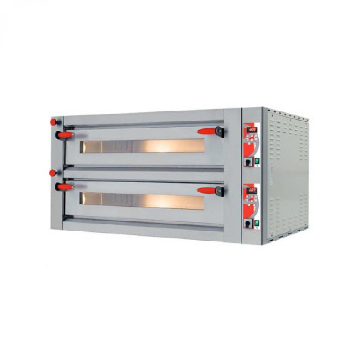 Yarrah Four à pizza électrique double professionnel - Digital 26,64 kW - Pizzagroup -