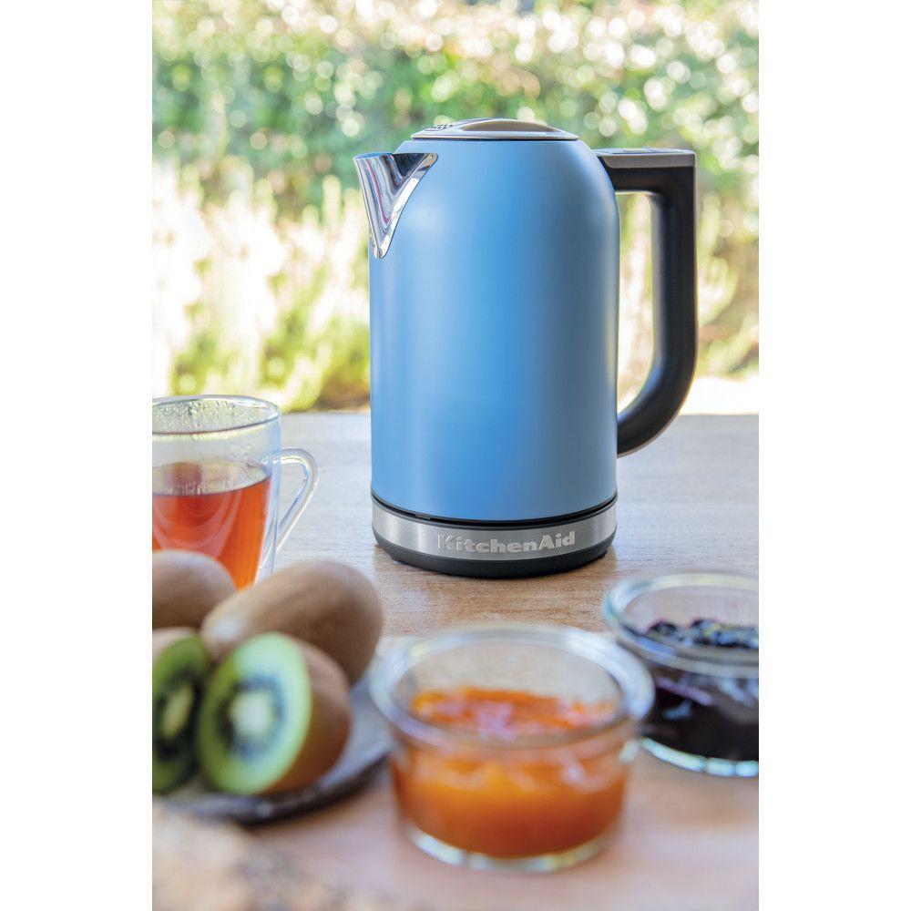 Kitchenaid bouilloire électrique de 1,7L 2400W velvet bleu argent