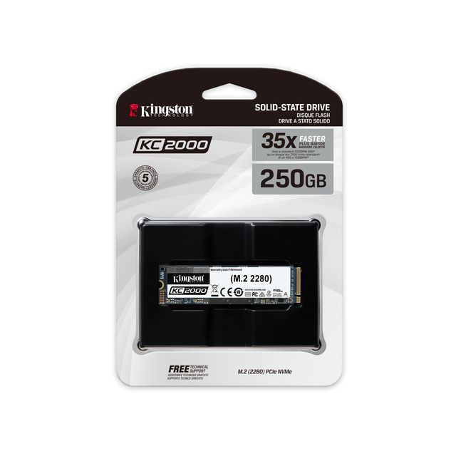 SSD Interne Kingston SKC2000M8/2000G