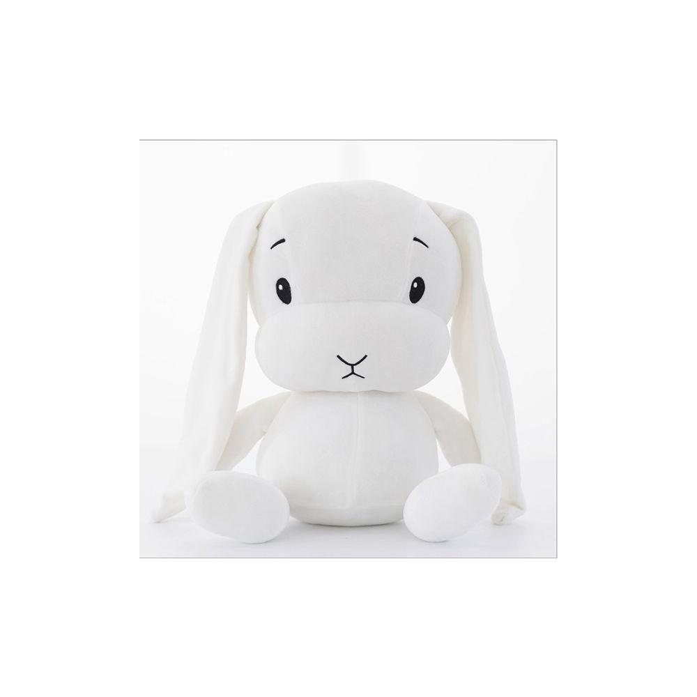 Wewoo Restez mignon lapin en peluche poupée bébé sommeil jouethauteur 70cm blanc