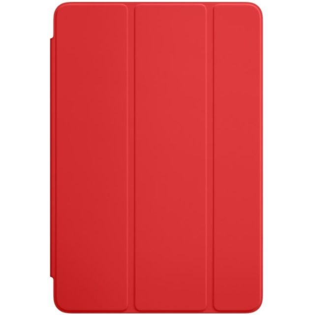 Apple - Smart Cover pour iPad Mini 4  - Rouge - Housse, étui tablette Polyuréthane
