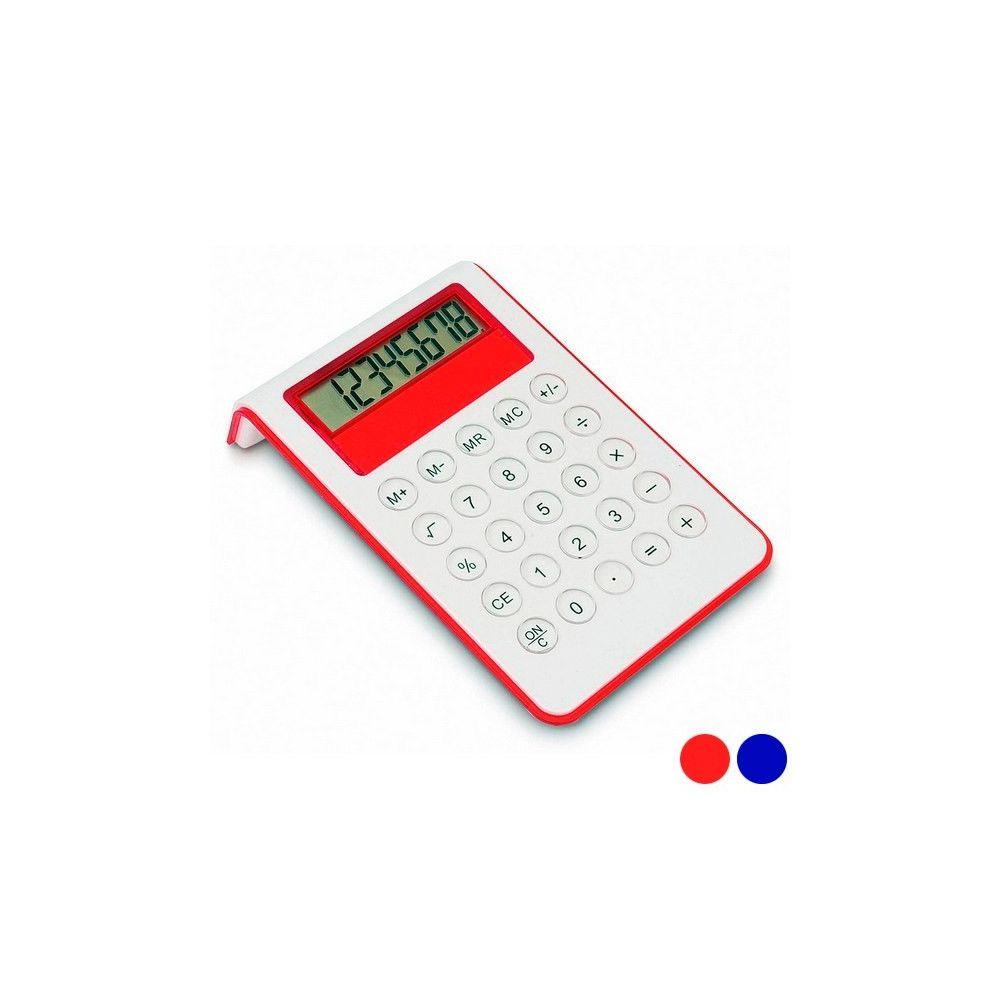 Totalcadeau Calculatrice bicolore fonctionnant à pile Couleur - Orange