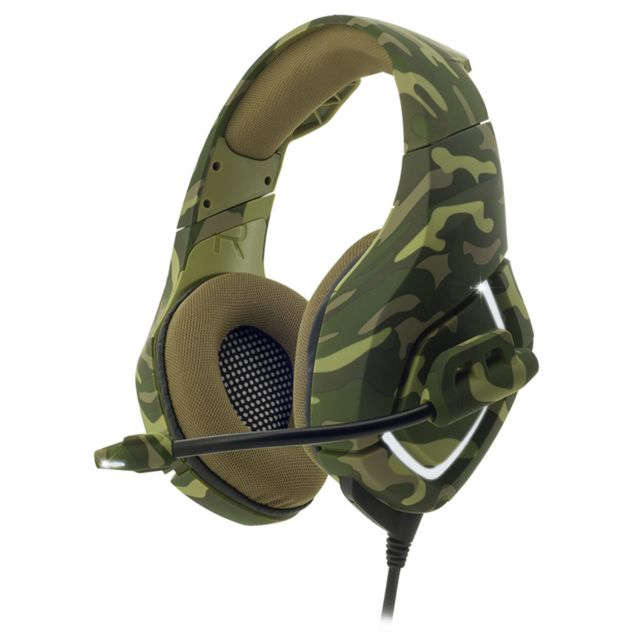 Spirit Of Gamer - ELITE-H50 Army Edition - Filaire - Micro-Casque Circum auriculaire