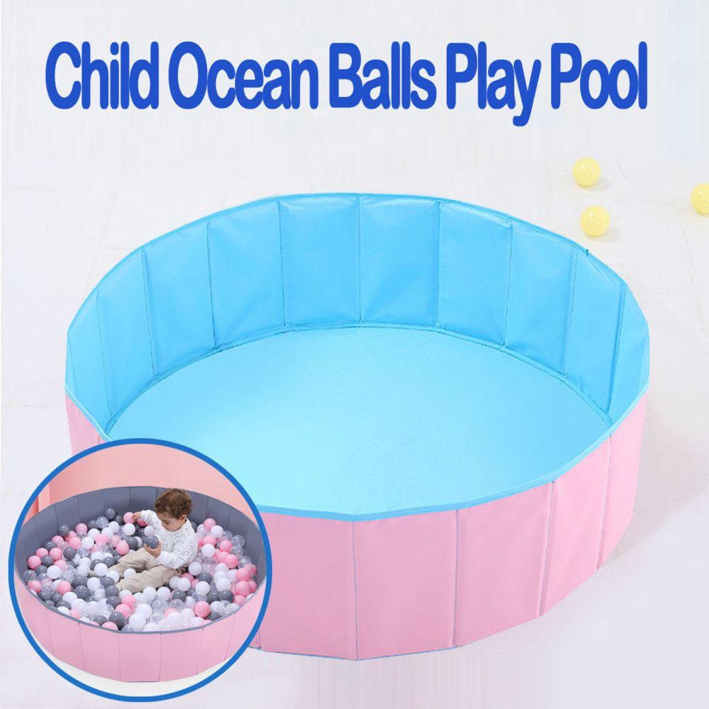 Generic Bébé enfants jouer jeu clôture portable balle pliante enfant océan balles jouer piscine - Bleu