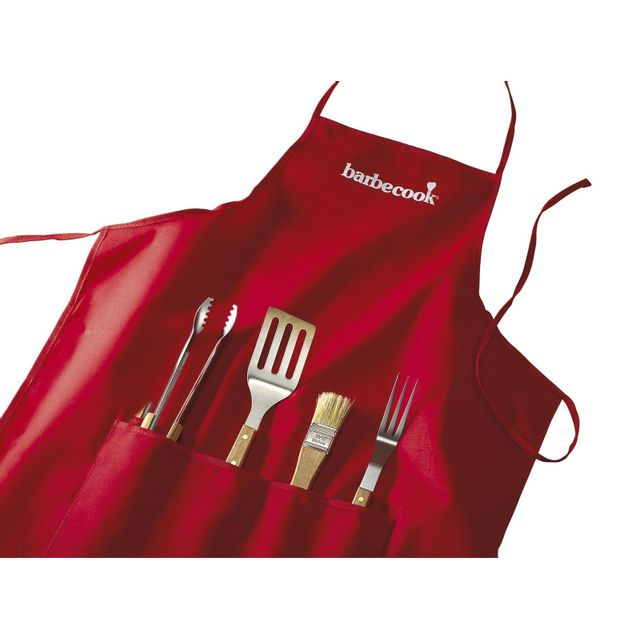 BARBECOOK - Tablier + set accessoires BARBECOOK   - BARBECOOK