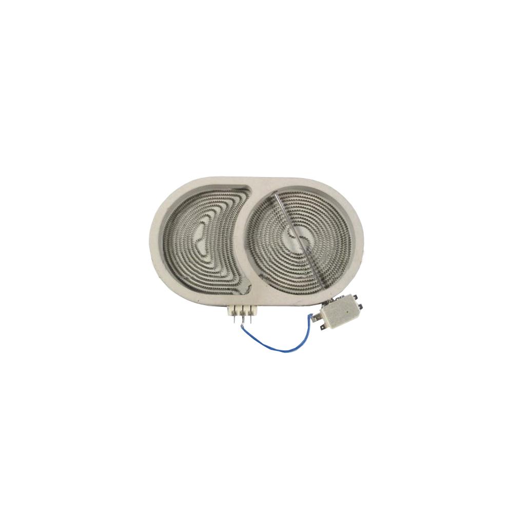 whirlpool PLAQUE CHAUFFANTE 145X250 230 V POUR TABLE DE CUISSON WHIRLPOOL - 480121101525