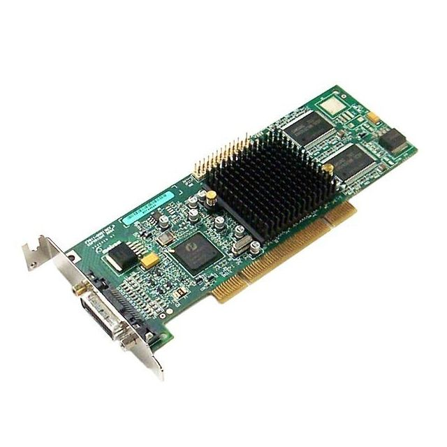 Matrox - Carte Graphique Low Profile MATROX G550 32Mo DDR PCI DMS-59 G55MDDAP32DBF - Occasions Carte Graphique