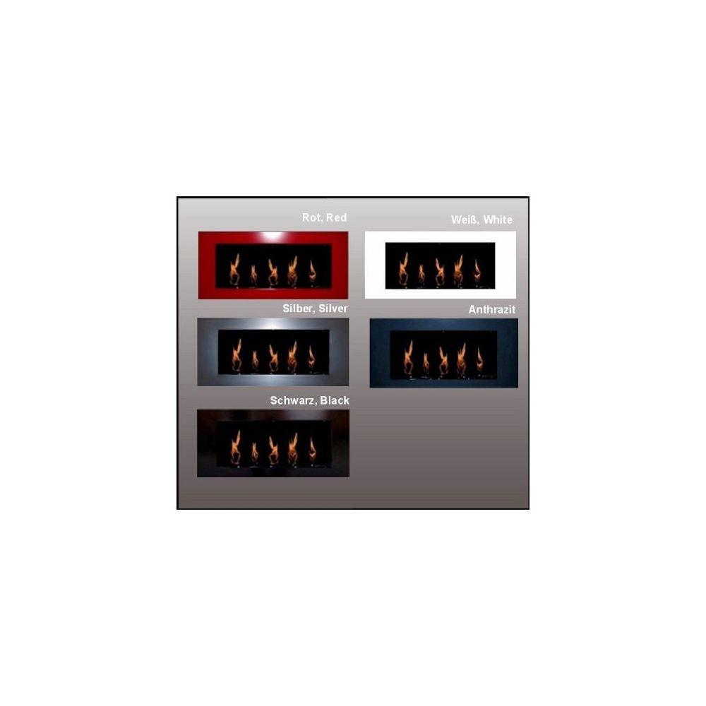Chemin'Arte Bio Ethanol Cheminée - Modèle Daniel - Couleur Noir