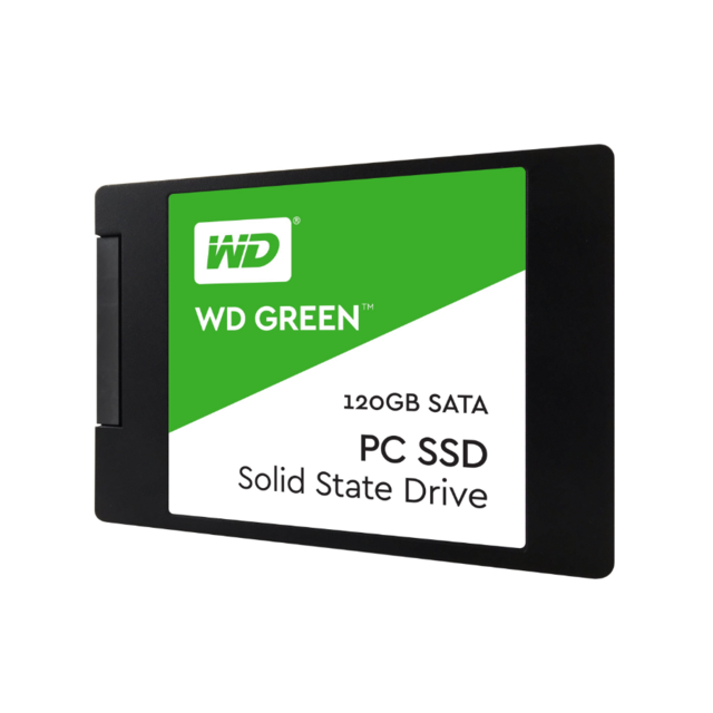 Western Digital - WD GREEN 120 Go 2.5'' SATA III (6 Gb/s) - SSD Interne