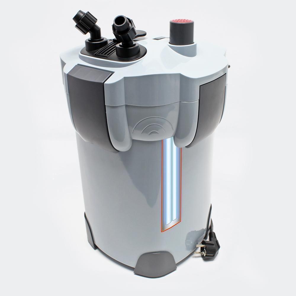 Helloshop26 Pompe filtre aquarium bio extérieur 2 000 litres par heure 9W 4216311