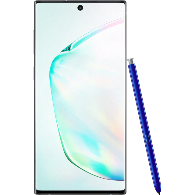 Smartphone Android Samsung SGH-GALAXY-NOTE10-SILVER