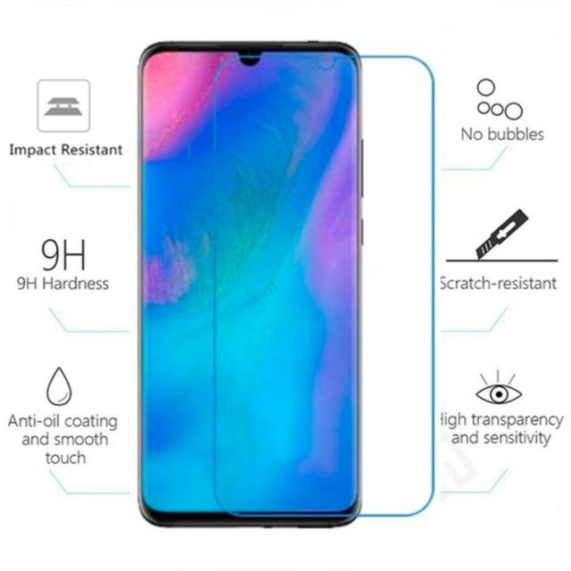 Cabling - CABLING® Huawei P30 Verre trempé, HD Full Coverage Premium Film Protection écran, 9H Dureté, sans Bulles, Anti-Rayures, Ultra Clair Protection Ecran Verre Trempé pour Huawei P30 - Protection écran tablette
