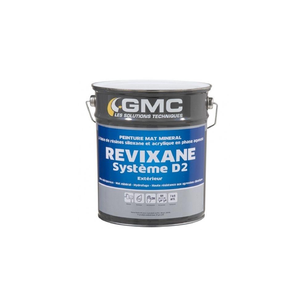 Gmc REVIXANE BLANC 15L- Peinture à base de résines siloxane et acrylique.-GMC