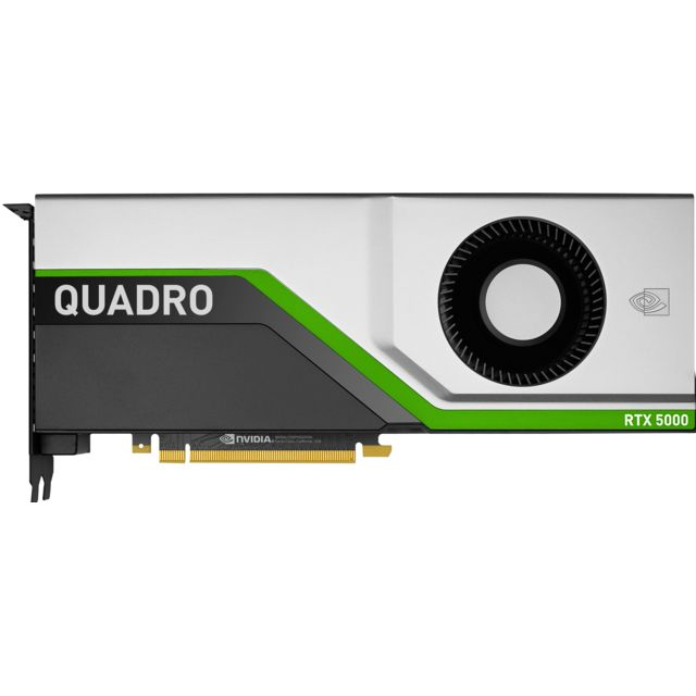 Hp - HP NVIDIA Quadro RTX 5000 16GB (4)DP+USBc - Carte Graphique NVIDIA