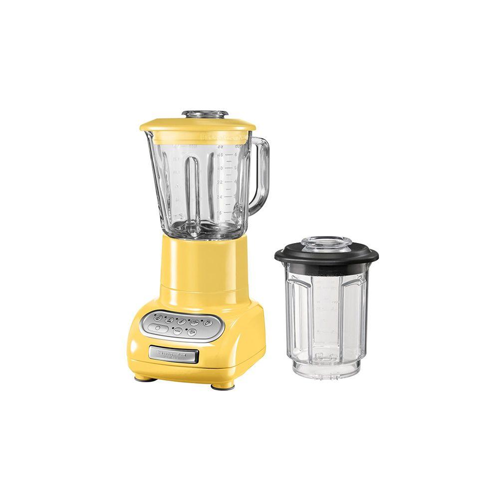 Kitchenaid kitchenaid - blender/mixeur 1,5l 550w avec bol en verre + bol 0.75l - 5ksb5553 emy