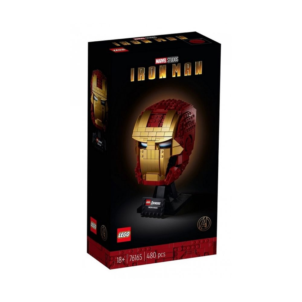 Lego 76165 Casque d Iron Man LEGO Marvel