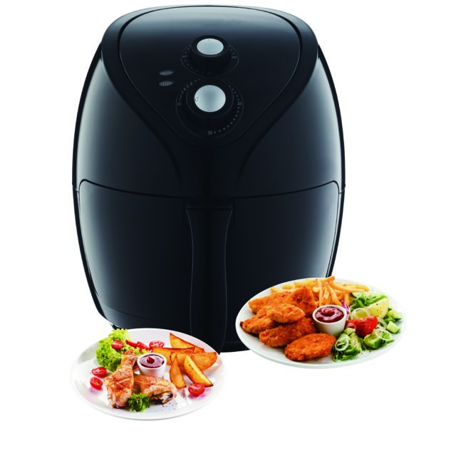 Triomph FRITEUSE A AIR CHAUD - AIRFRYER– 2,6L – 1400W ETF1800