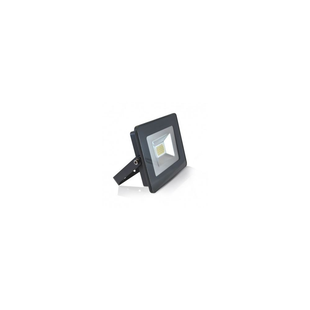 Vision-El Projecteur Exterieur LED Plat Gris 20W 3000 K IP65