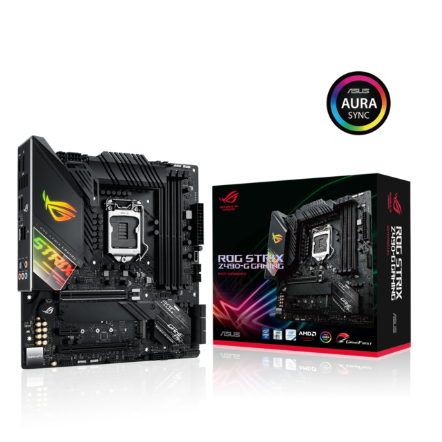 Asus - INTEL Z490-G ROG STRIX GAMING - Micro-ATX - Carte mère Intel
