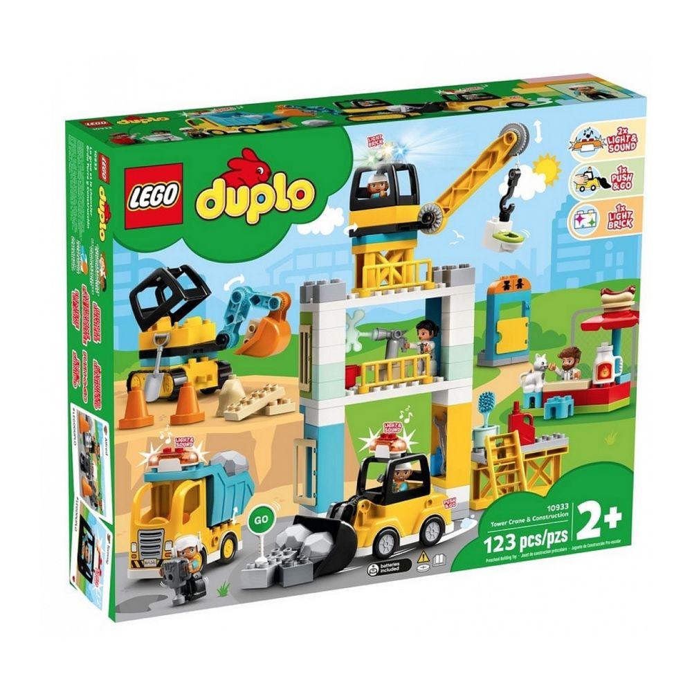 Lego 10933 La grue et les engins de construction LEGO DUPLO Ville