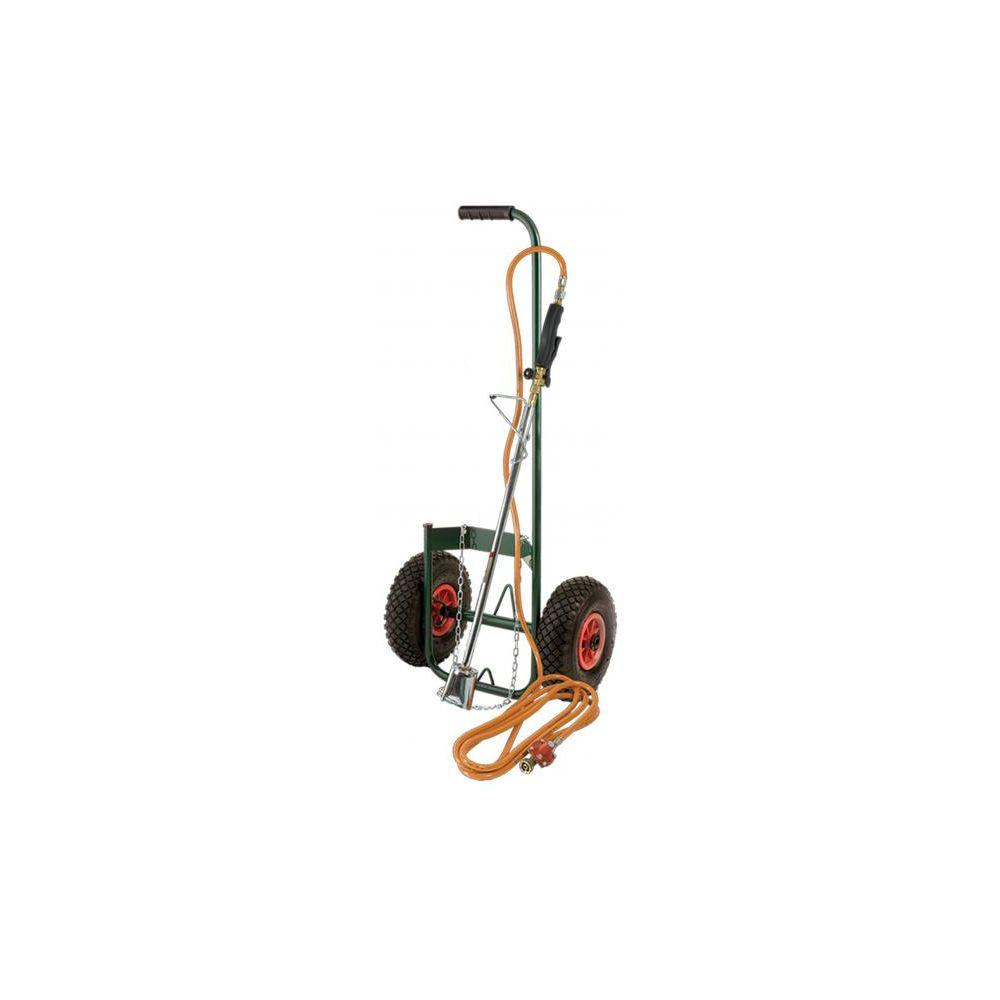 Ribiland ribiland - kit desherbeur thermique avec chariot roues gonflables - proxkit1