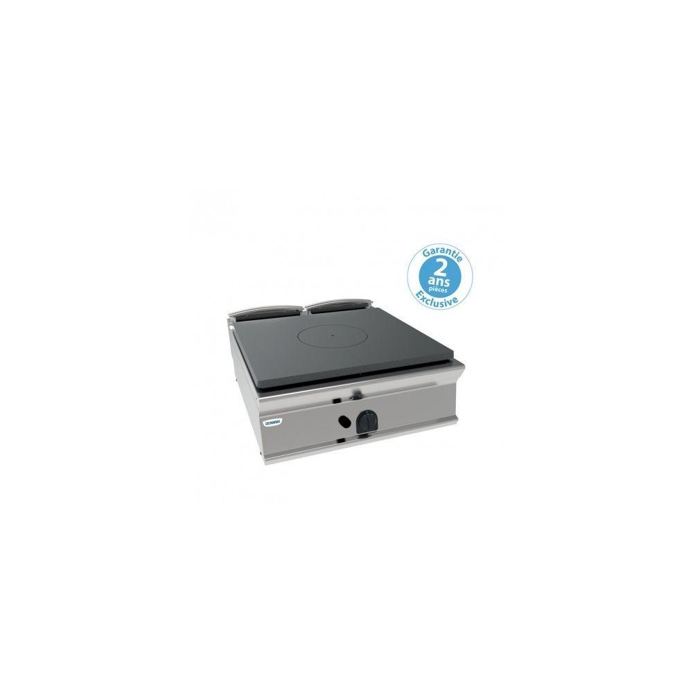 Materiel Chr Pro Plaque coup de feu gaz à poser - gamme 900 - 11 kW - Tecnoinox - 900