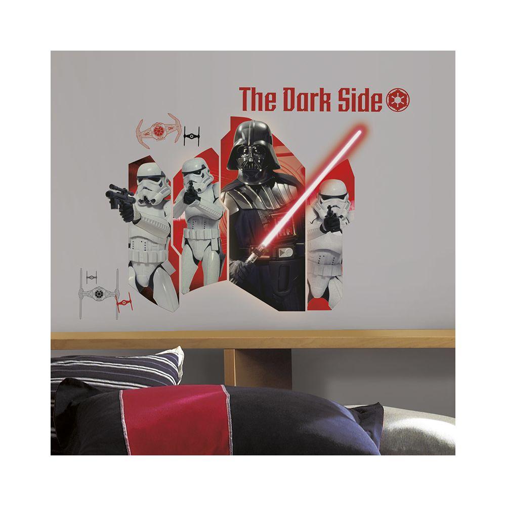 Mon Beau Tapis STAR WARS EP VII DARK VADOR - Stickers repositionnables géants Dark Vador, Star Wars Episode VII 81x59