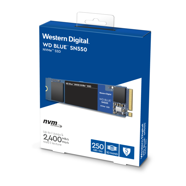 Western Digital - Disque SSD NVMe WD Blue SN550 Western Digital - Disque SSD M.2