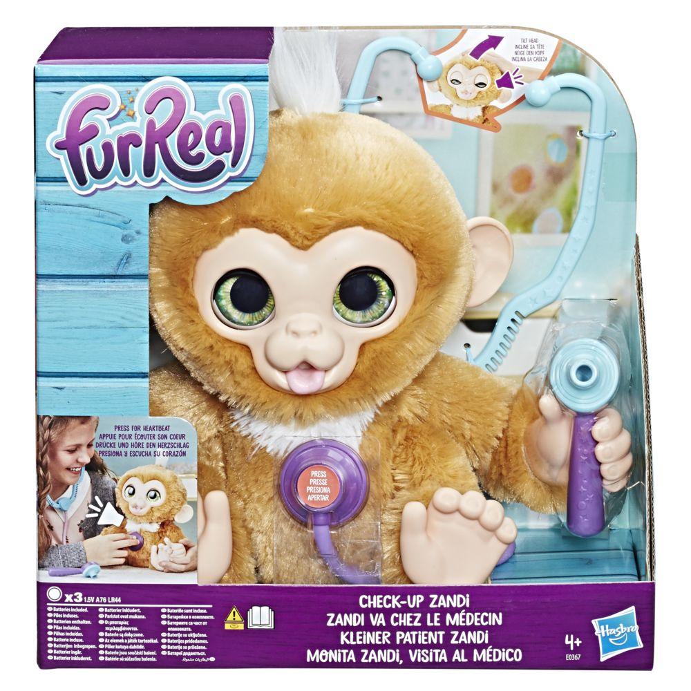 Furreal Friends Zandi le bébé singe va chez le médecin - E0367EU40