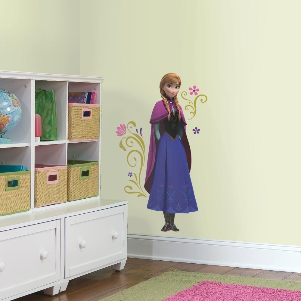 Mon Beau Tapis DISNEY LA REINE DES NEIGES ANNA - Stickers repositionnables Anna de la Reine des Neiges, film d'animation Disney