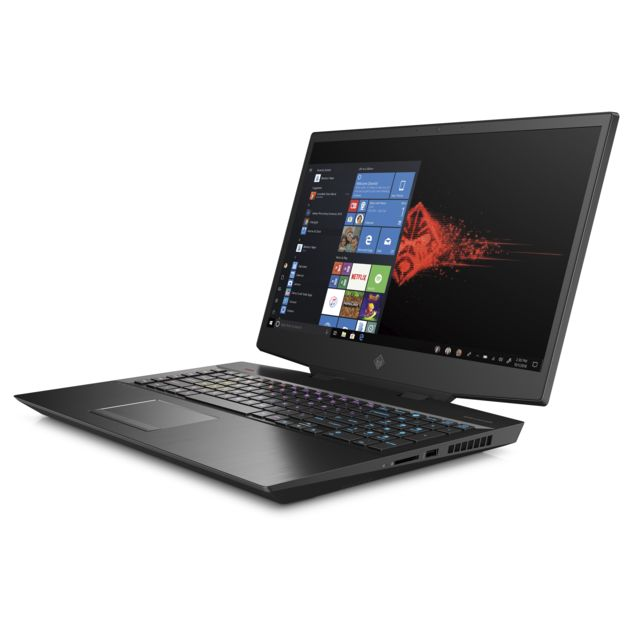 PC Portable Gamer Hp OMEN Laptop - 17-cb1061nf - Noir