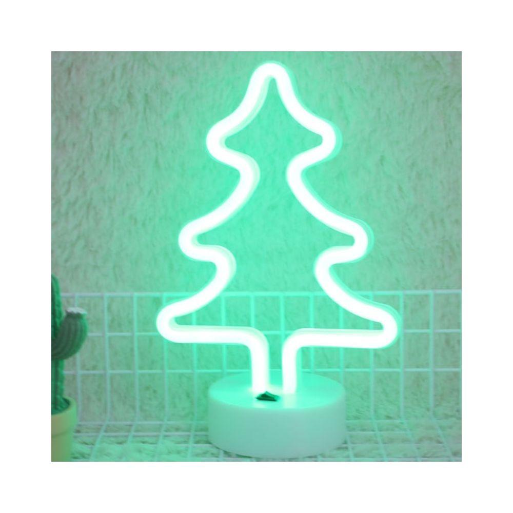 Wewoo Guirlande LED Arbre de Noël romantique Neon vacances lumière avec supportlumière de nuit décorative lampe fée chaude pou