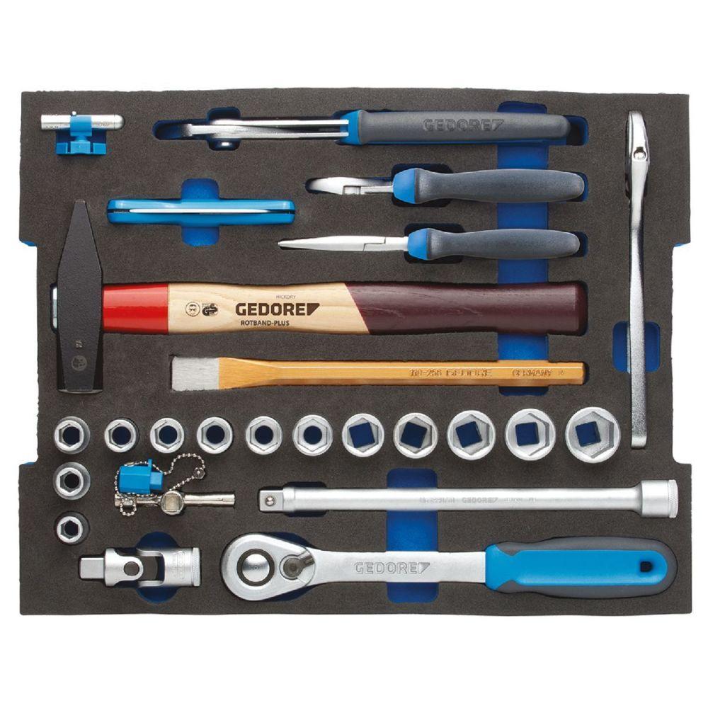 Gedore Gedore Composition pour artisans en module 1/2 L-BOXX 136, 26 pièces - 1100 CT2-01