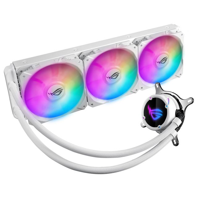 Asus - ROG STRIX LC 360 - White Edition - RGB - 380 mm - Watercooling