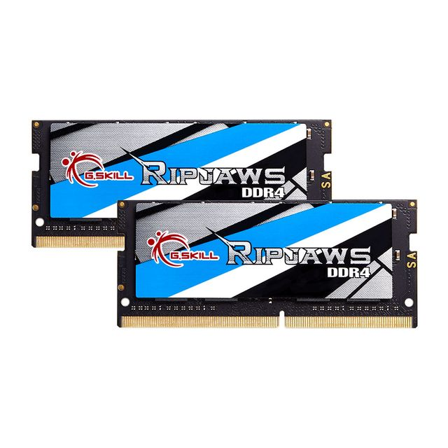 G.Skill - RipJaws Series SO-DIMM 16 Go (2x 8 Go) - 2133 MHz - CL 15 - RAM PC Portable Ripjaws