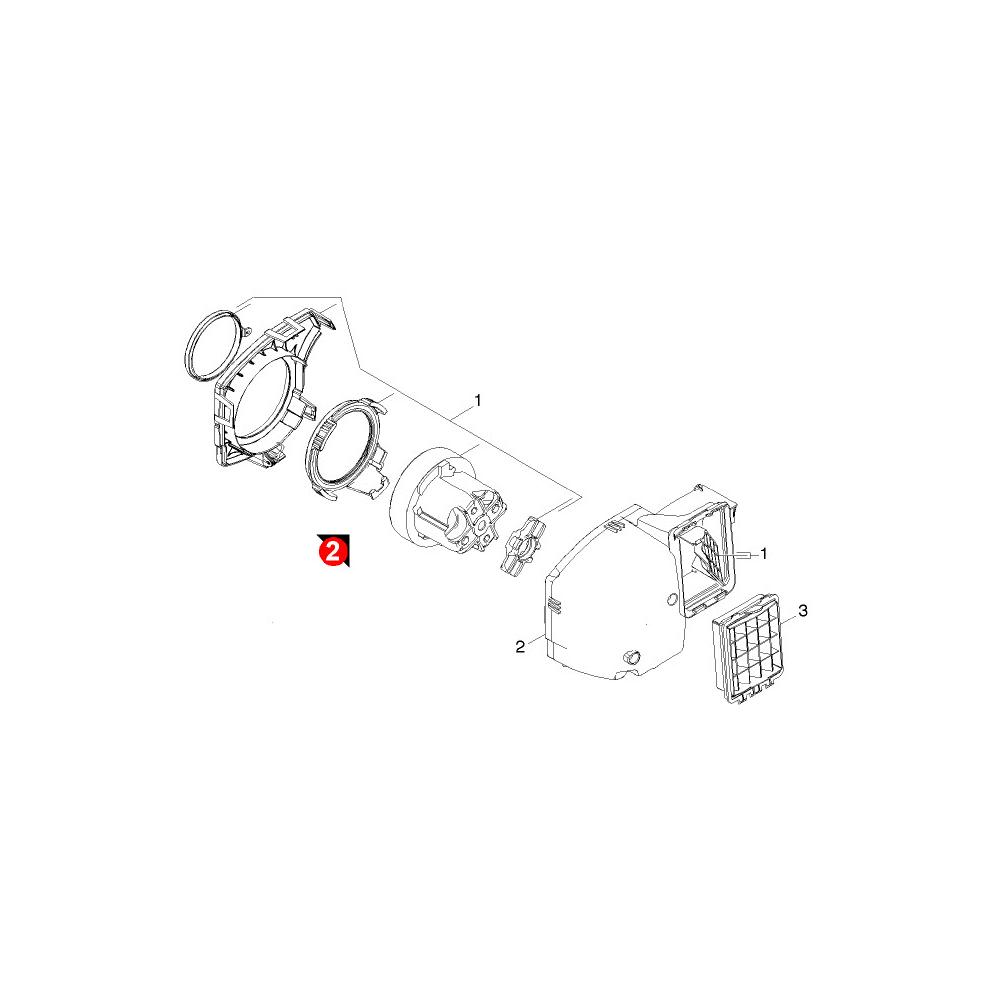 Karcher MOTEUR ASPIRATEUR POUR PETIT ELECTROMENAGER KARCHER - 41951470