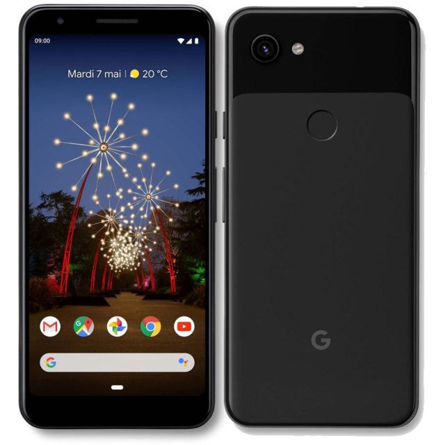 GOOGLE - Pixel 3a - 64 Go - Noir - Smartphone Android 64 go