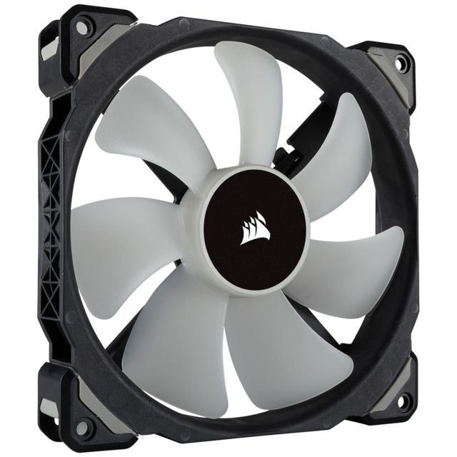 Corsair  CORSAIR ML140 PRO RGB, 140mm Premium Magnetic Levitation RGB LED PWM Fan, Single Pack