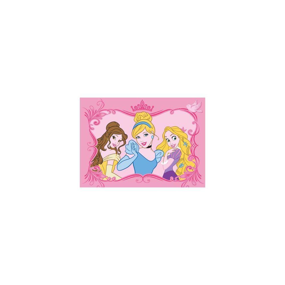 Walt Disney Walt Disney Tapis enfant PRINCESSE ELEGANCE Tapis Polyamide