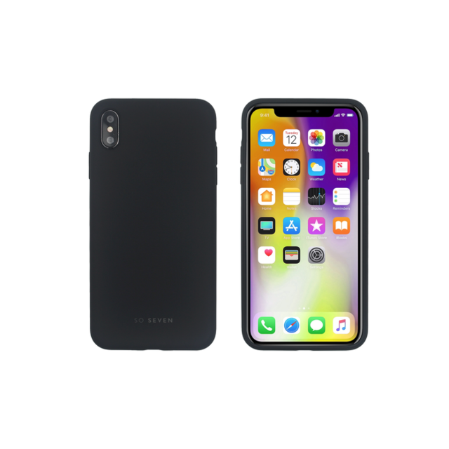 TP-LINK - Coque Smoothie Silicone iPhone XS Max - Noire TP-LINK   - Accessoire Smartphone Iphone xs max