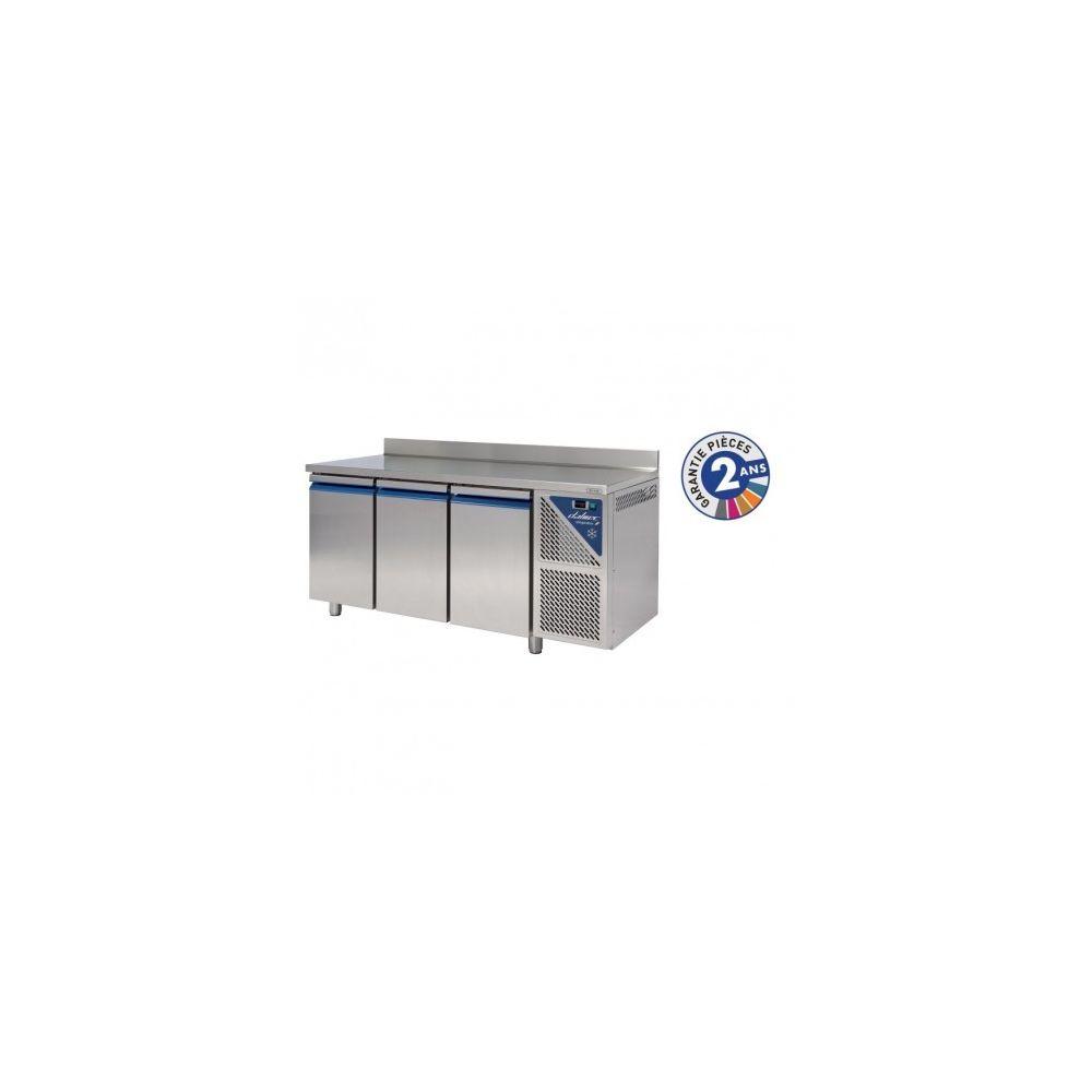 Dalmec Table réfrigérée positive - 3 portes avec dosseret groupe logé - Dalmec - 700