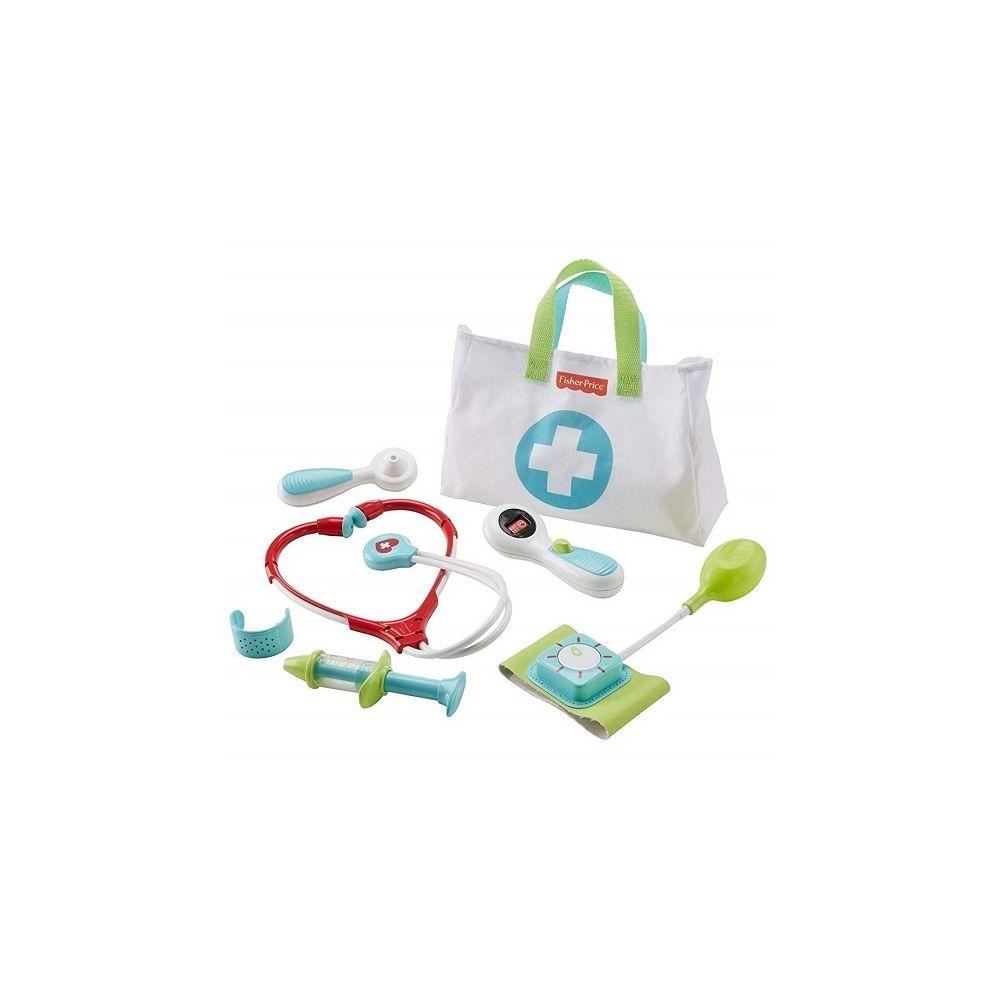 Fisher Price Malette de Docteur Medical Kit 7 accessoires - Fisher-Price - Jeu imitation 3-6 ans