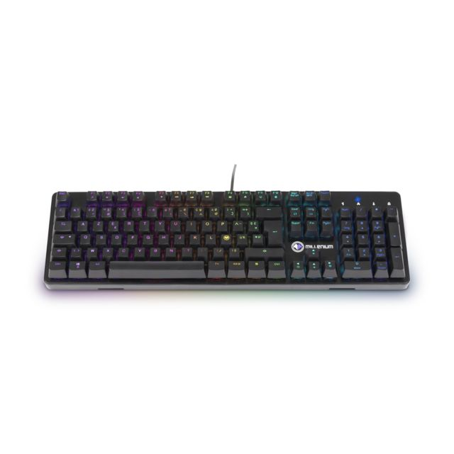Millenium - MT2 - Clavier gaming mécanique LED - Clavier Gamer