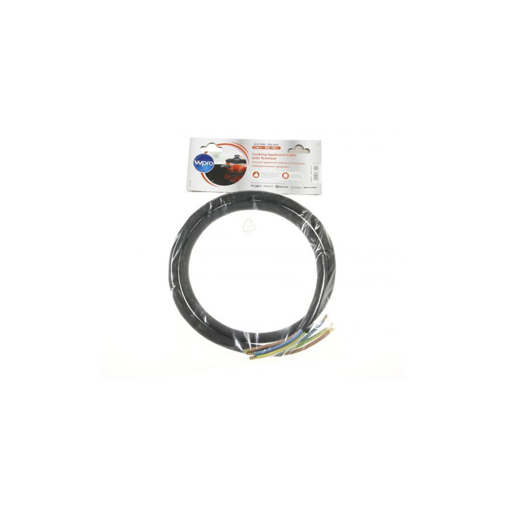 whirlpool CABLE HO7 RNF 3G6 SANS PRISE CUISSON POUR TABLE DE CUISSON WHIRLPOOL - 484010678187